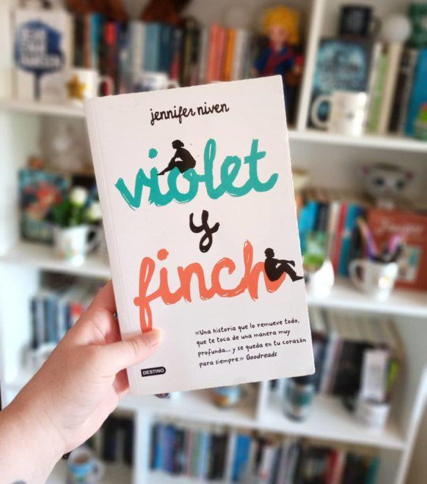 Libro Violet y Finch de Jennifer Niven