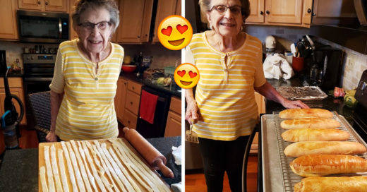 Abuelita da clases de cocina a sus seguidores en su página de Facebook