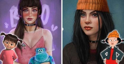 15 Personajes animados luciendo como adolescentes