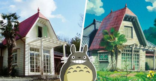 Esta casa es idéntica a la de Satsuki y Mei en 'Mi Vecino Totoro'
