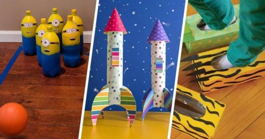 15 Manualidades para celebrar el Día del Niño con un toque de creatividad