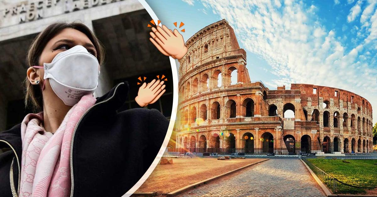 El futuro de Italia está cambiando: La curva de nuevos contagios está disminuyendo