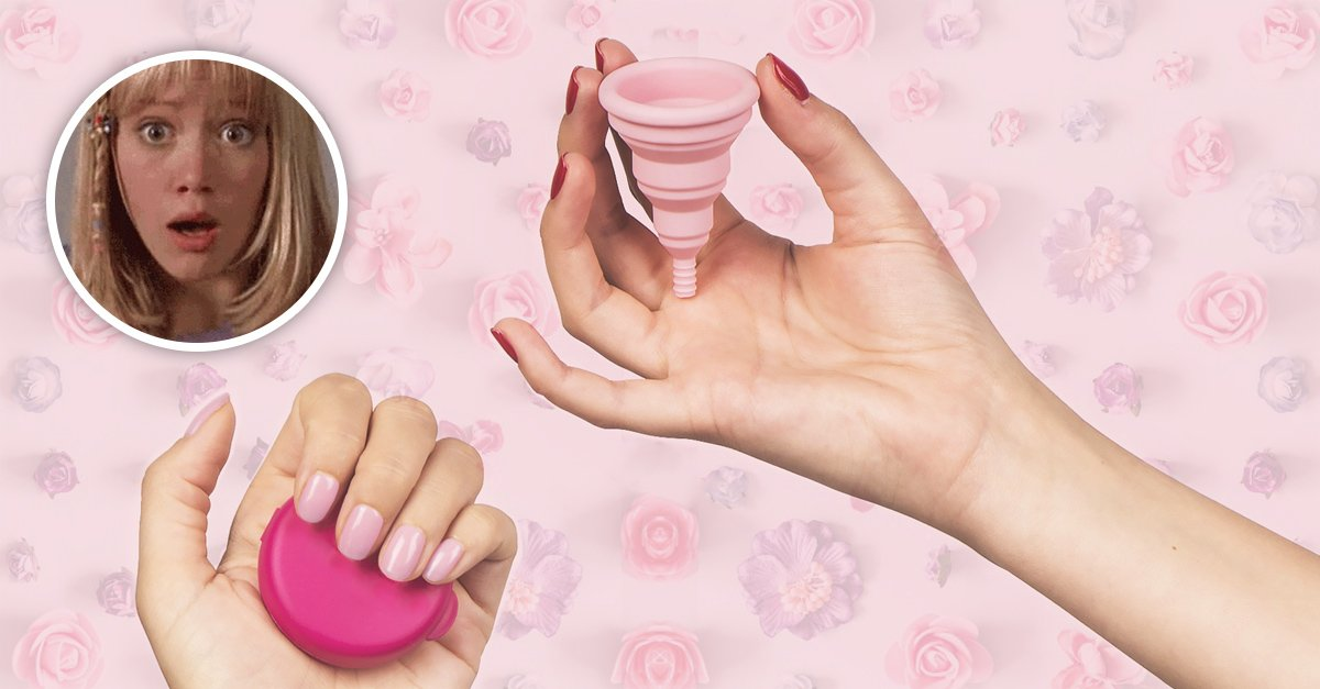 Padece Síndrome de Shock Tóxico al usar su copa menstrual