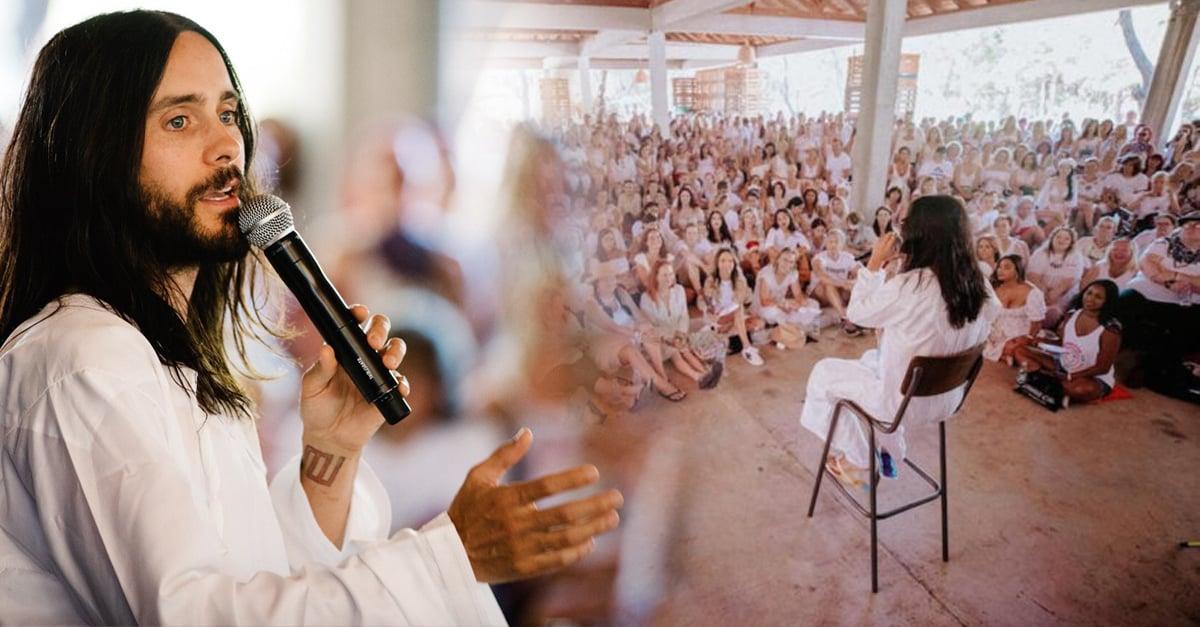 ¿Jared Leto tiene una secta? Se lleva a sus fans a una isla privada