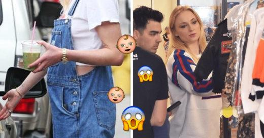 ¿Sophie Turner está embarazada? Joe Jonas la acompañó a comprar ropa de bebé