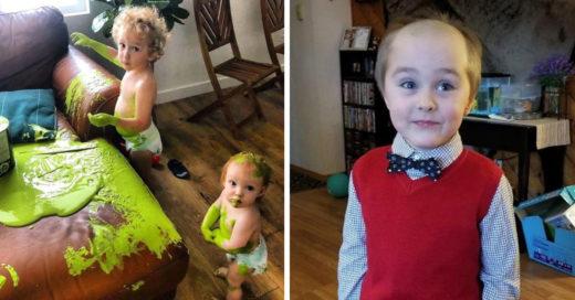 16 Imágenes de lo divertido y complicado que es la crianza en cuarentena