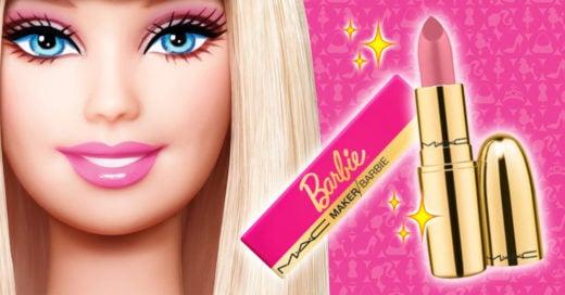 Mac y Barbie crean el mejor labial del año; ¡le queda bien a todas!