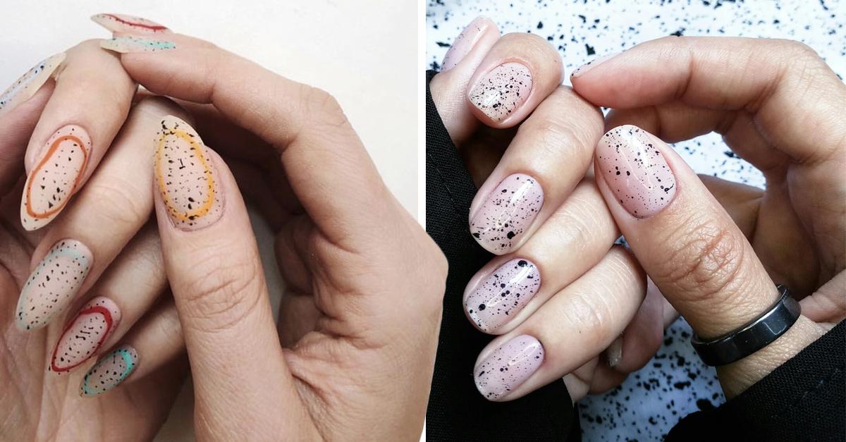 13 Ideas para pintar tus uñas como Huevos de Pascua