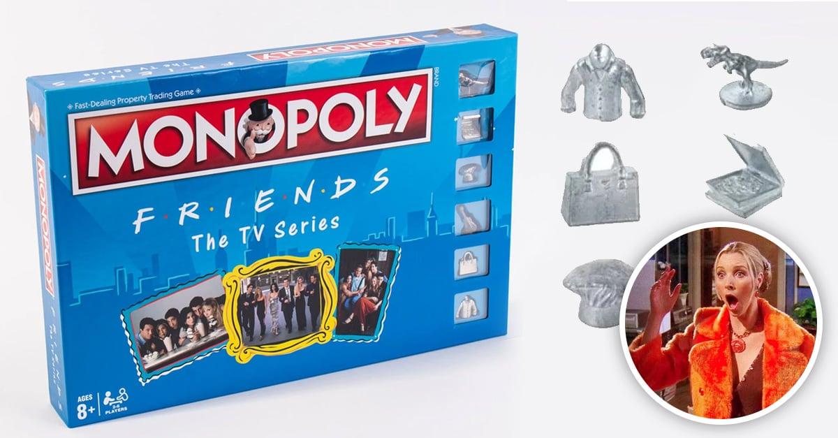 Llega edición especial de Monopoly de la serie Friends