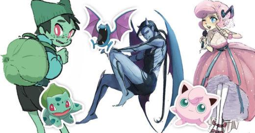 25 Dibujos muestran como lucirían los pokemones sifueran personas