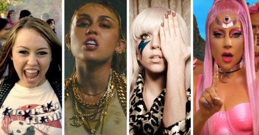 Así se veían estos 15 cantantes en su primer y más reciente video de música