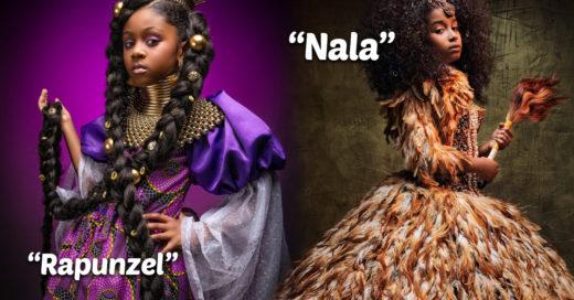 Así se verían las princesas de Disney si fueran afroamericanas