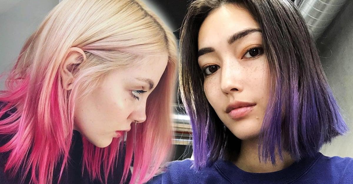 19 Ideas para teñir las puntas de tu cabello y verte fabulosa