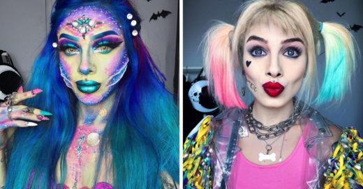 12 Asombrosos maquillajes que demuestran que eso es realmente un arte