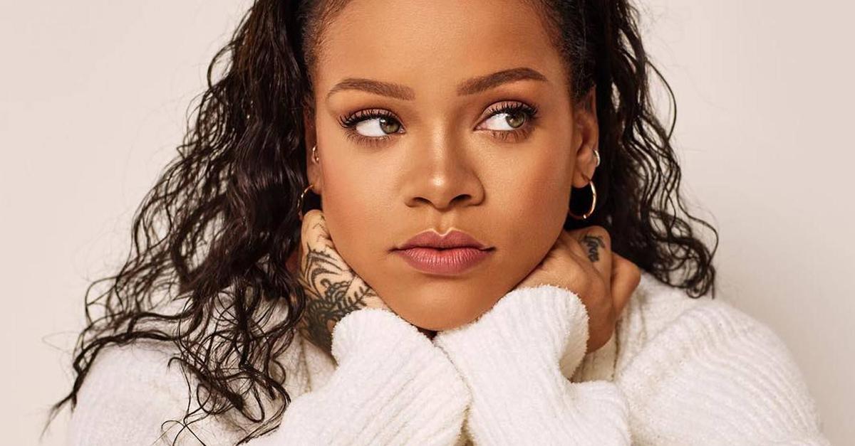 Rihanna colabora en una nueva canción e internet no sabe cómo reaccionar