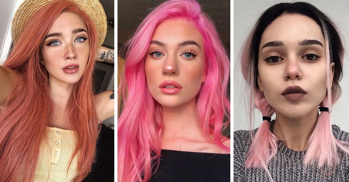 18 Tonos de rosa para teñir tu cabello; elige un toque soñador o alocado