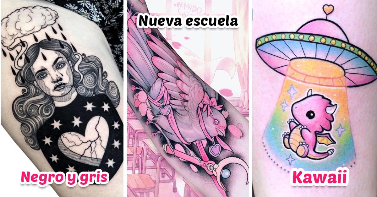 21 Estilos de tatuajes femeninos para chicas creativas