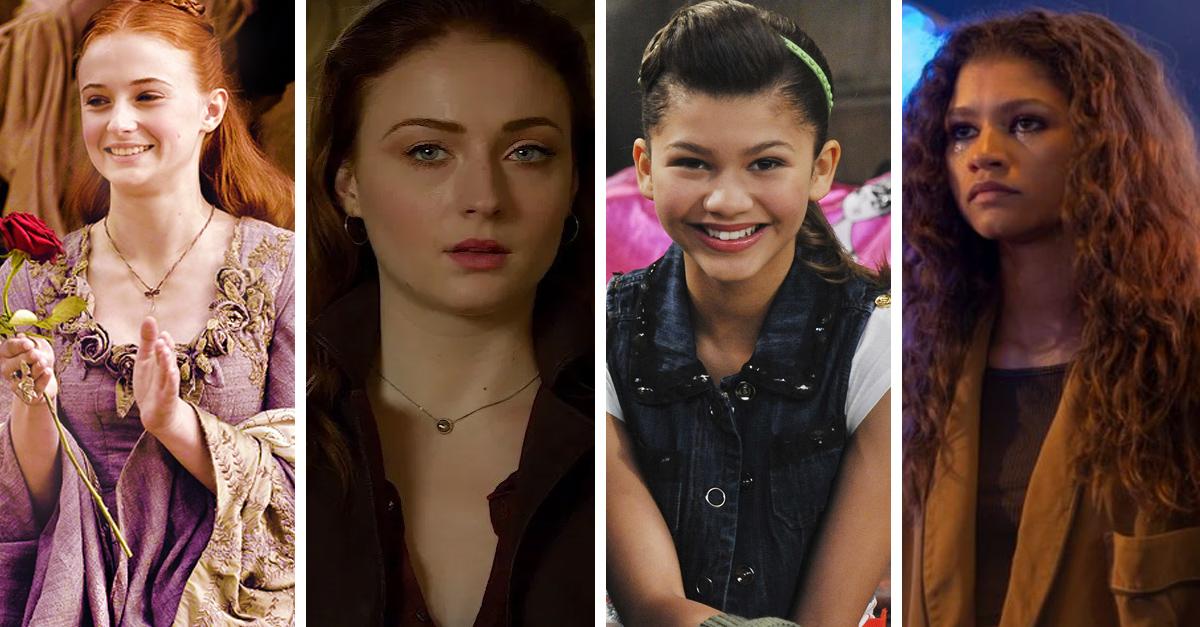 24 Transformaciones de actores de la generación Z en su primer y última aparición en pantalla