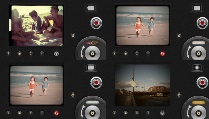 8MM application for editing stories on Instagram