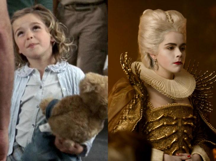 Actores jóvenes de la Generación Z antes y después; Kiernan Shipka, Monk, El mundo oculto de Sabrina