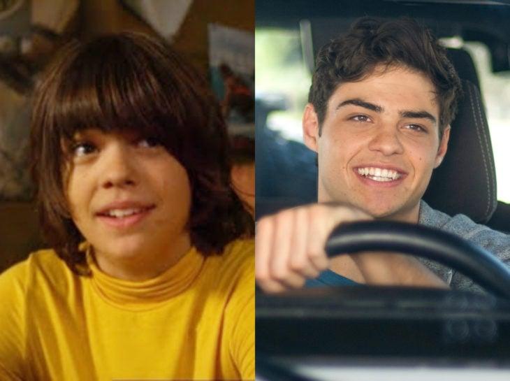 Actores jóvenes de la Generación Z antes y después; Noah Centineo, The golden retriever, A todos los chicos de los que me enamoré