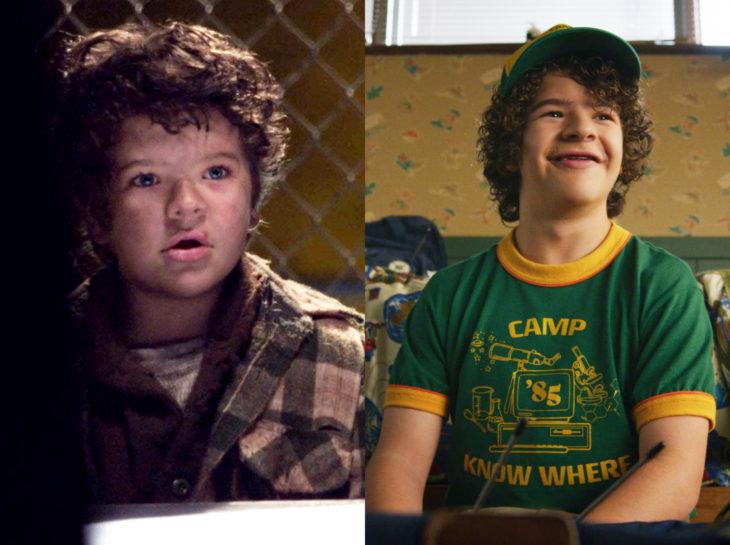 Actores jóvenes de la Generación Z antes y después; Gate Matarazzo, The Blacklist, Stranger Things