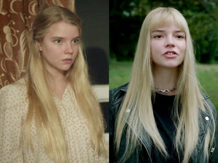 Actores jóvenes de la Generación Z antes y después; Anya Taylor-Joy, Endeavour, Los nuevos mutantes