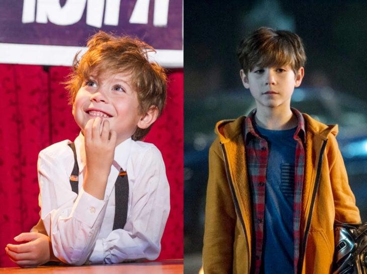 Actores jóvenes de la Generación Z antes y después; Jacob Tremblay, The grat Sabinim Doctor sueño