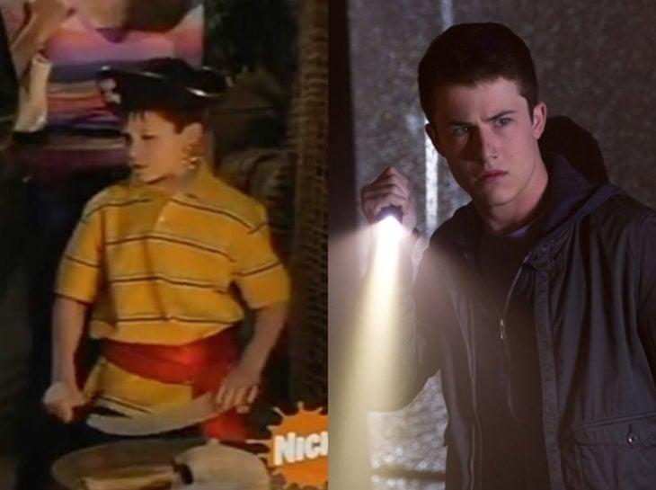 Actores jóvenes de la Generación Z antes y después; Dylan Minnette, Drake y Josh, Escalofríos 2. Una noche embrujada