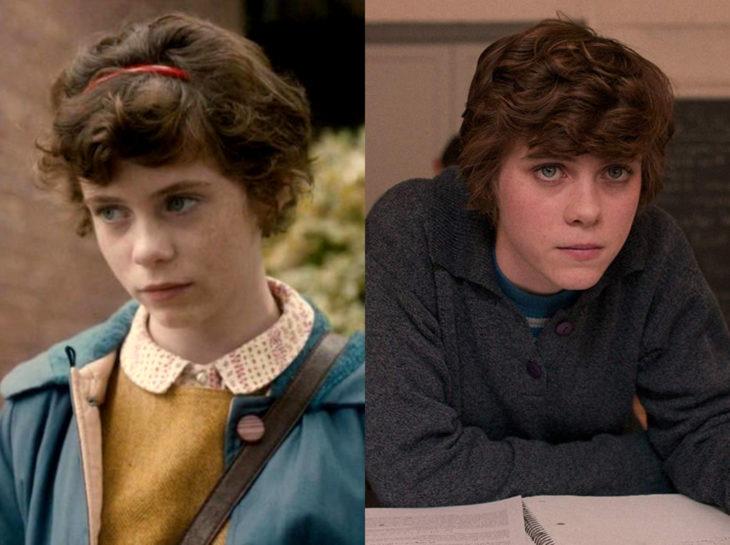 Actores jóvenes de la Generación Z antes y después; Sophia Lillis, 37, Esta mierda me supera