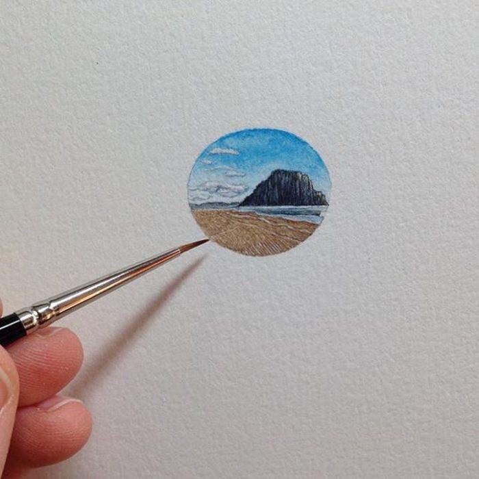 Pinturas miniatura de Brooke Rothshank