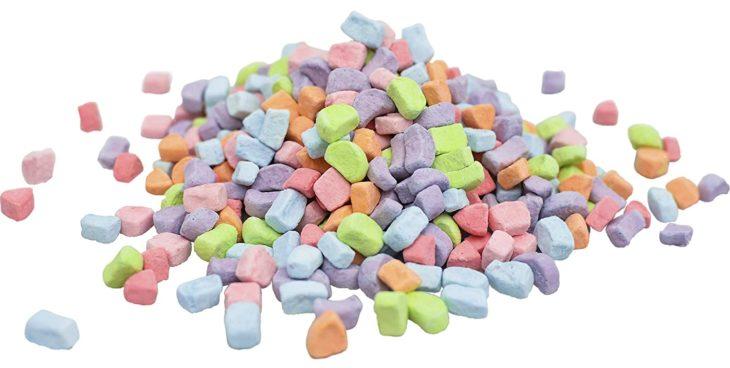 Malvaviscos de cereal en colores