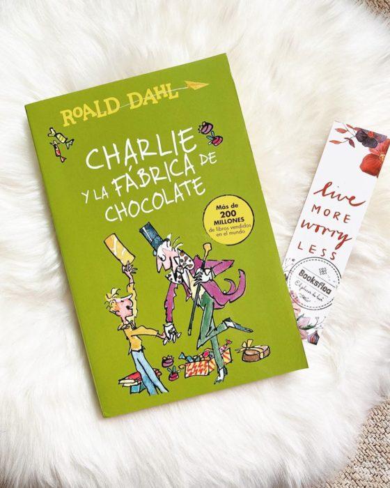 Portada del libro infantil Charlie y la fábrica de chocolate