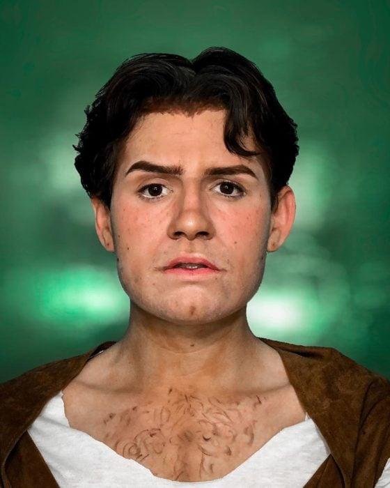 Usiel Guillermo; chico mexicano que se parece a Shrek humano