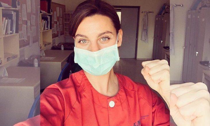 Clara Alvarado se une como enfermera ante covid-19