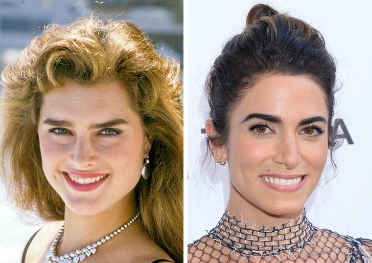 Comparación de belleza entre Brooke Shields y Nikki Reed