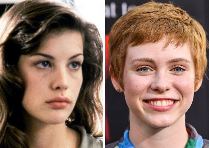 Comparación de belleza entre Liv Tyler y Sophia Lillis