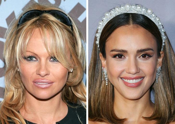Comparación de belleza entre jessica de alba y pamela anderson