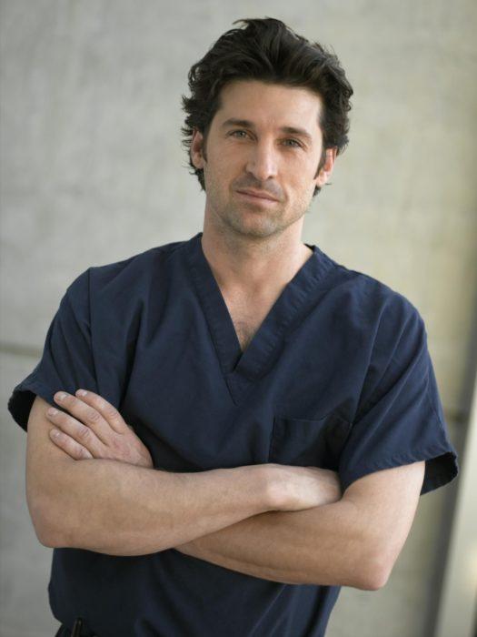 Derek Shepherd de la serie Anatomía de Grey
