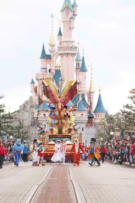 Desfile en Disneylandia