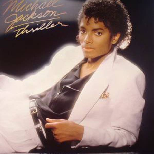 Portada del disco Thriller de Michael Jackson