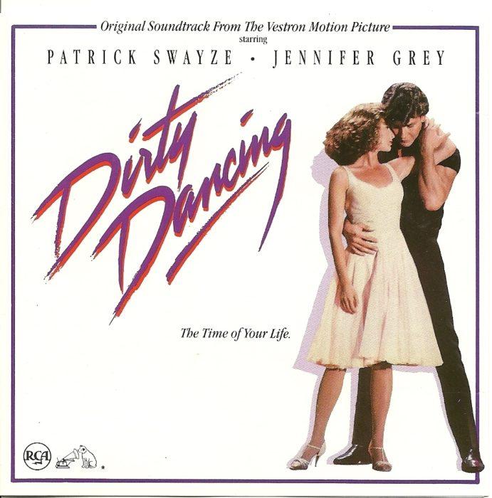 Portada del disco Dirty Dancing de la banda sonora de la película homónima