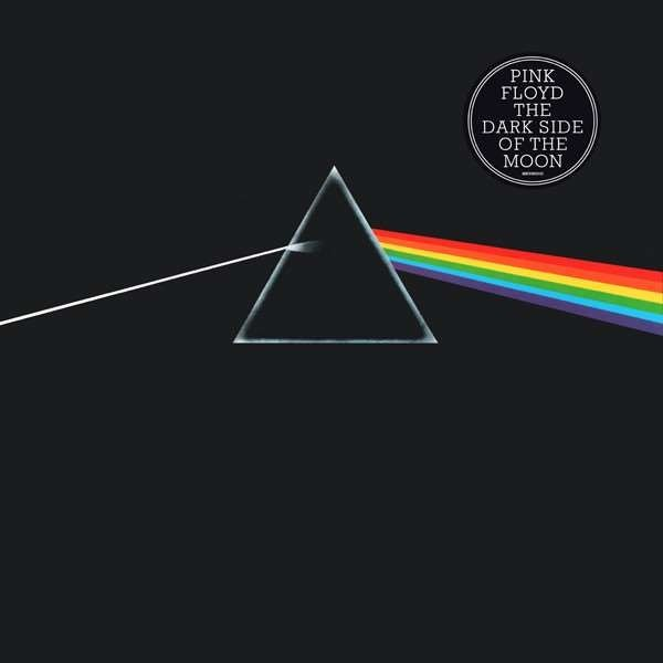 Portada del disco The Dark Side Of The Moon de Pink Floyd