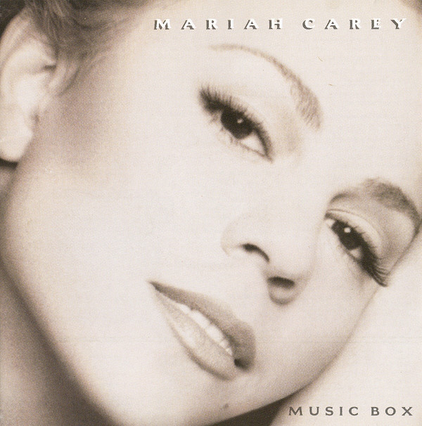 Portada del disco Music Box de Mariah Carey