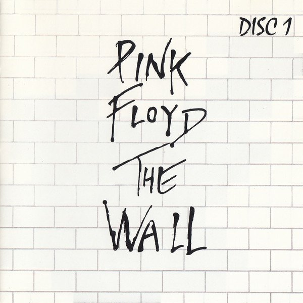 Portada del disco The Wall de Pink Floyd