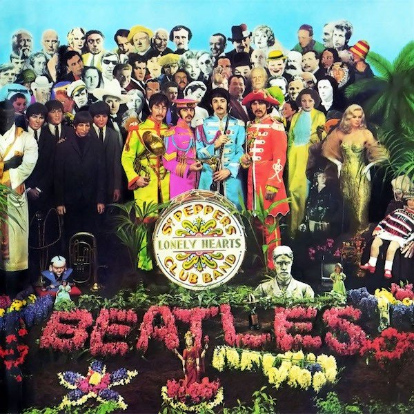 Portada del disco Sgt. Pepper's Lonely Hearts Club Band de The Beatles