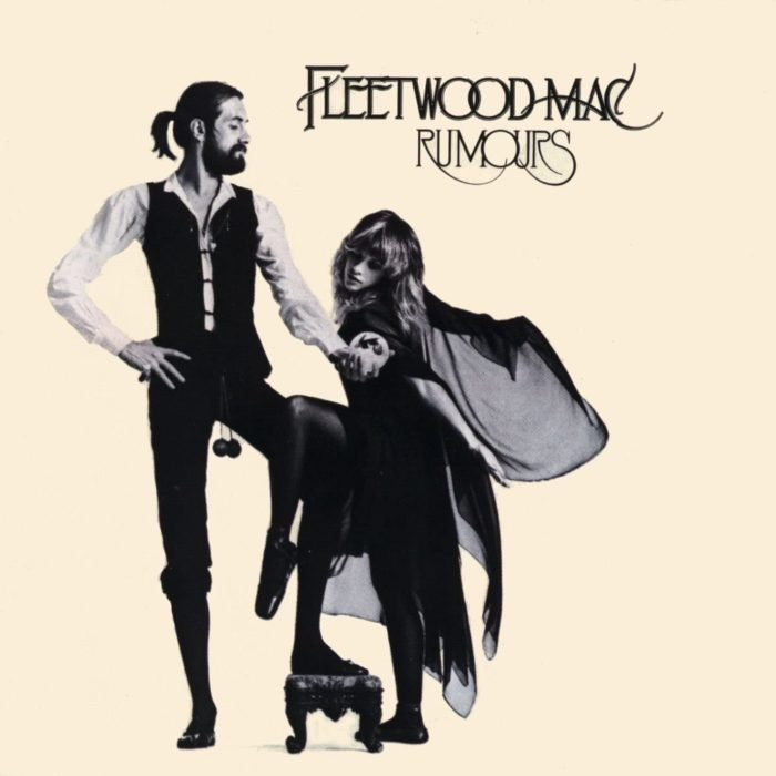 Portada del disco Rumours de Fleetwood Mac