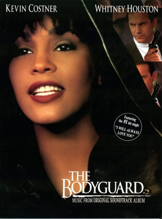 Portada del disco The Boyguard de Whitney Houston