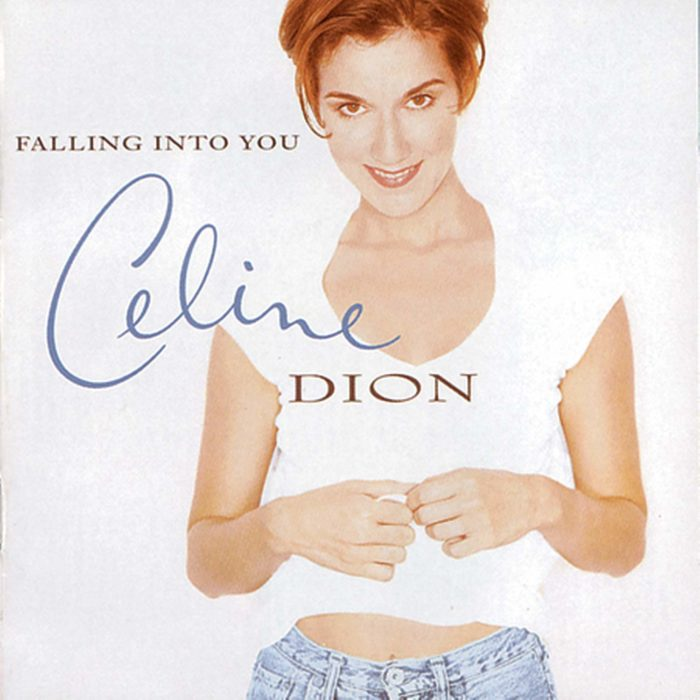 Portada del disco Falling Into You de Céline Dion