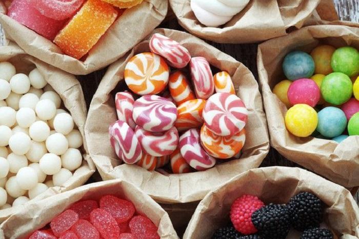 Saquitos de dulces